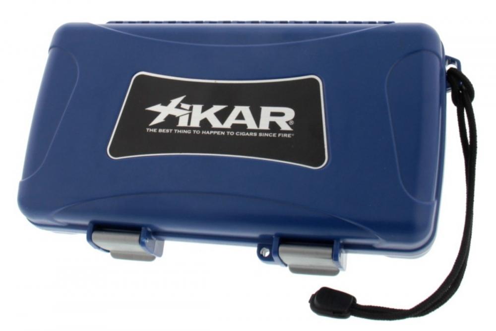 Reisehumidor Xikar 1205xi ABS blau 5 Zigarren