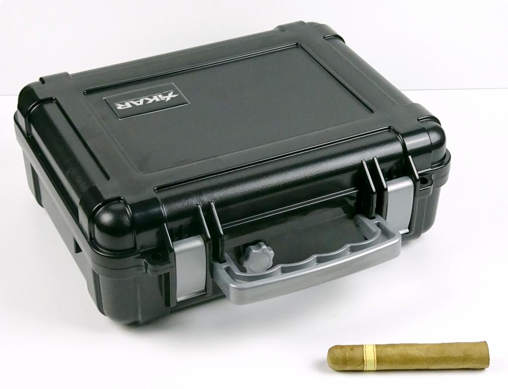 Reisehumidor Xikar 1250xi ABS schwarz 50 Zigarren